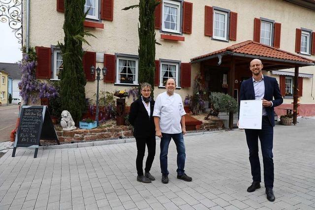 Das Gasthaus Löwen in Kappel-Grafenhausen soll um die 500 Jahre alt sein