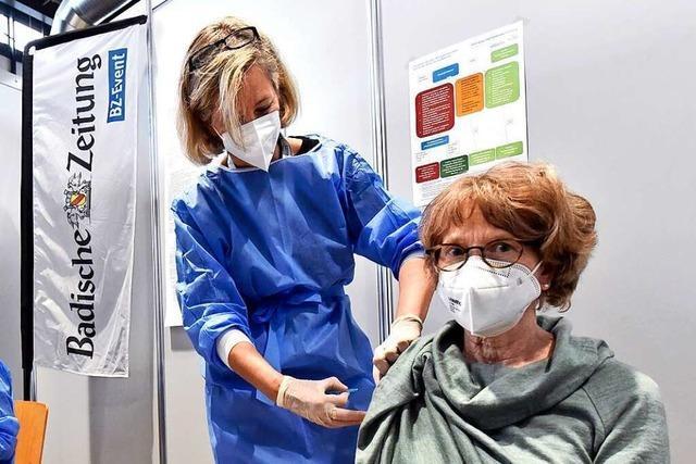 Es gibt noch Termine für den BZ-Impftag in Offenburg