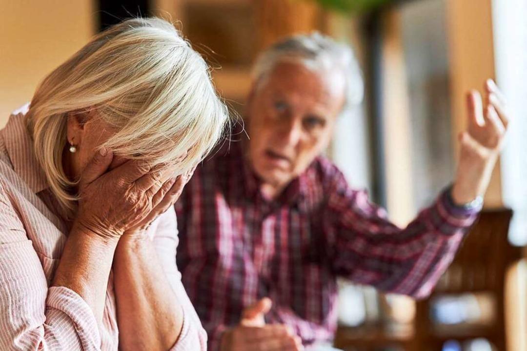Spannungen gibt es in vielen Beziehung...ich immer wieder in häuslicher Gewalt.    Foto: Robert Kneschke (Adobe Stock)