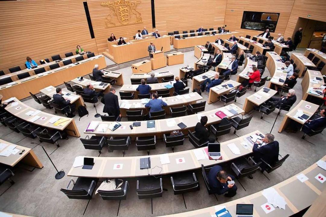 Der Landtag in Stuttgart    Foto: Tom Weller (dpa)