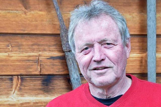 Der Nollinger Hansjörg Lammer hält Gewerkschaften für wichtiger denn je