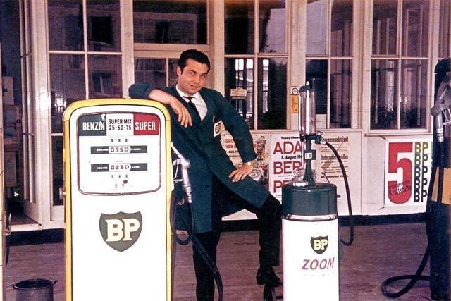 Eine Offenburger Tankstelle schreibt Automobilgeschichte