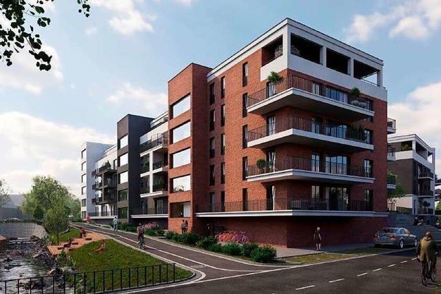 125 Wohnungen sollen auf dem Weberei-Areal in Schopfheim entstehen