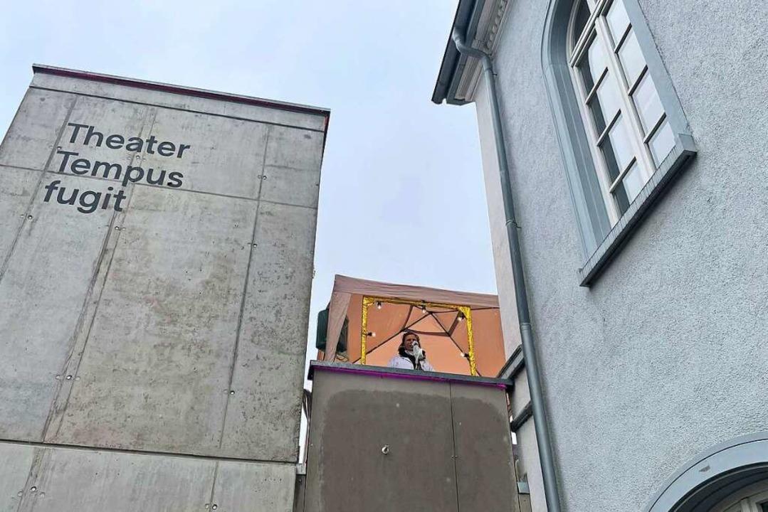 Tempus fugit bietet im Theaterhaus in Lörrach öffentliche Tests an.  | Foto: Barbara Ruda