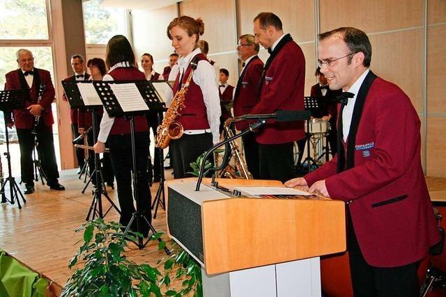 Die Stadtkapelle Offenburg bekommt eine Lagerhalle