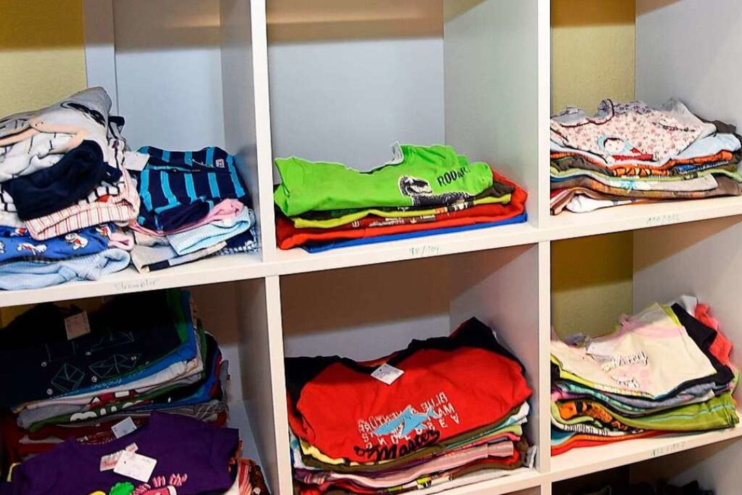 Das Familienzentrum hat immer schon ge... Tauschbörsen organisiert <ppp> </ppp>    Foto: Heinz u. Monika Vollmar