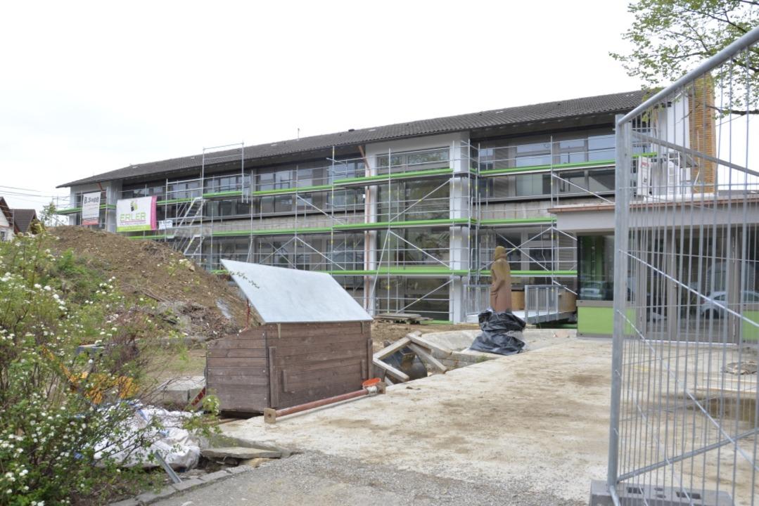 Das Grundschulgebäude wurde saniert und umgenutzt.  | Foto: Sophia Hesser