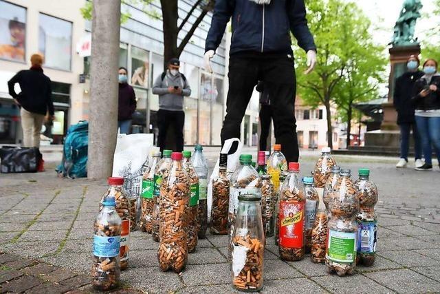 Kippensammler machen in Offenburg erschreckend große Ausbeute