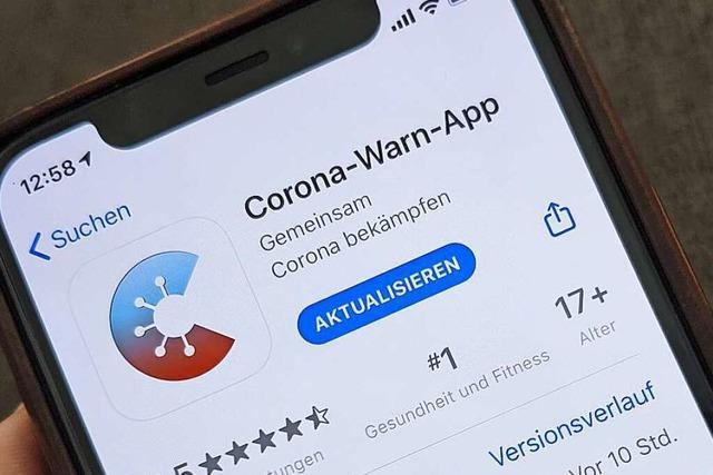 Neue Version der Corona-Warn-App zeigt Schnelltest-Ergebnisse an