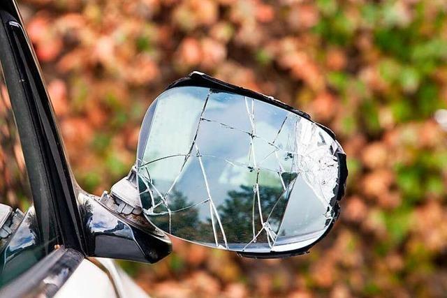 Jugendliche Radler beschädigen Autospiegel an Freiburger Ampel