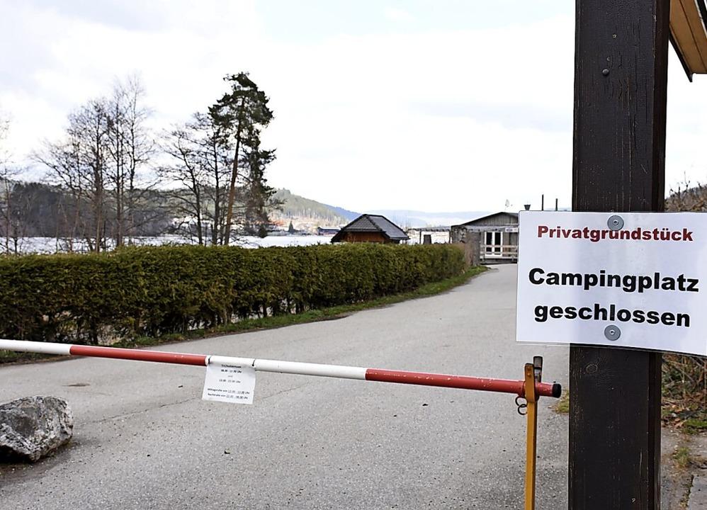 Die Campingplätze im Hochschwarzwald, ...es Herbergsverbots weiter geschlossen.  | Foto: Thomas Biniossek