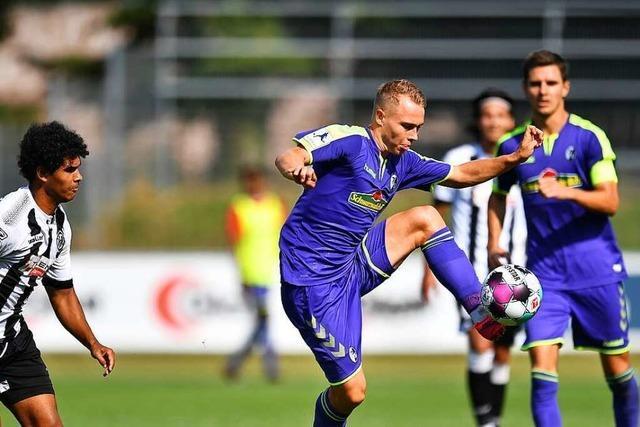 SC Freiburg II muss gegen VfB Stuttgart II in der Tiefe gut verteidigen