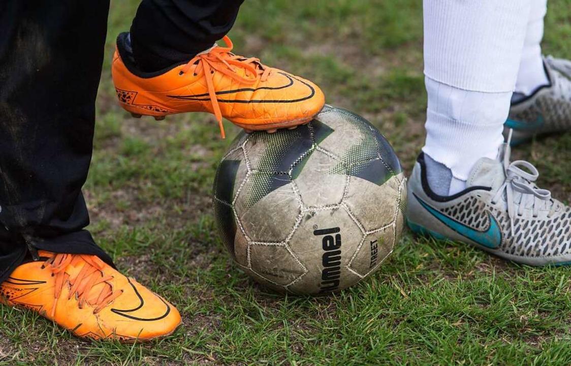 Begegnung beim Sport – das ist d...nklusiven Ballschule des Bahlinger SC.  | Foto: Patrick Seeger