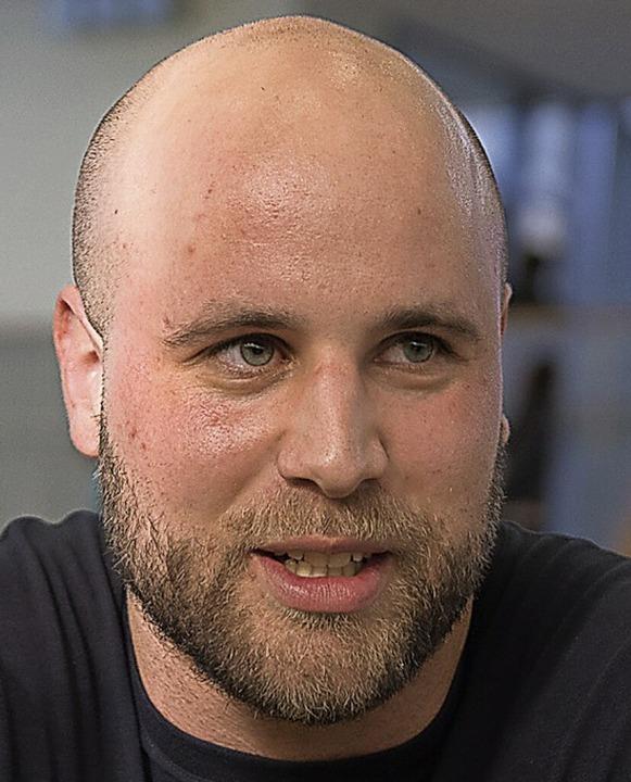 CVJM-Trainer Matthias Blum  | Foto: KREIENKAMP