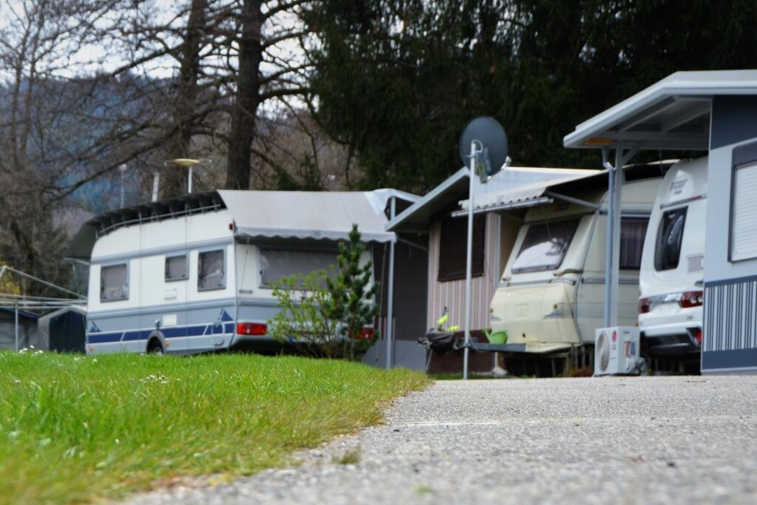 Nichts los: Campingplätze in Baden-Wür...-Verordnung nicht öffnen (Archivbild).  | Foto: Kathrin Blum