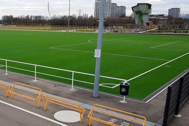 Ein Zaun um den Sportplatz des FV Dinglingen soll Schäden verhindern