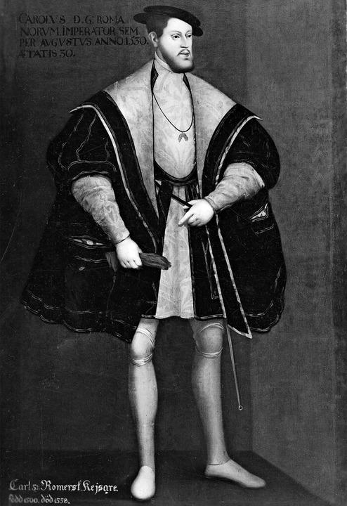 Der Habsburger Karl V. war  von 1520 b...aiser des Heiligen Römischen Reiches.   | Foto: Artokoloro(imago)