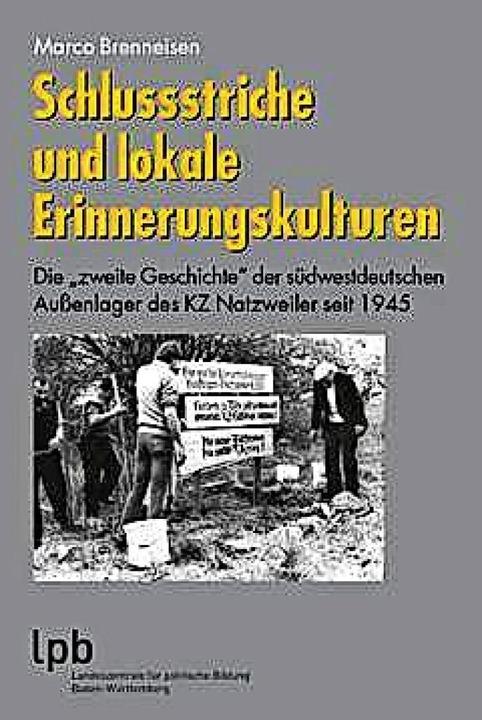 Marco Brenneisen: Schlussstriche und l...ng, Stuttgart 2020. 679 S., 6,50 Euro.  | Foto: BZ