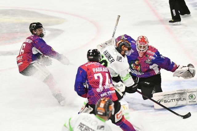 Der EHC Freiburg startet mit einer Niederlage ins Playoff-Halbfinale