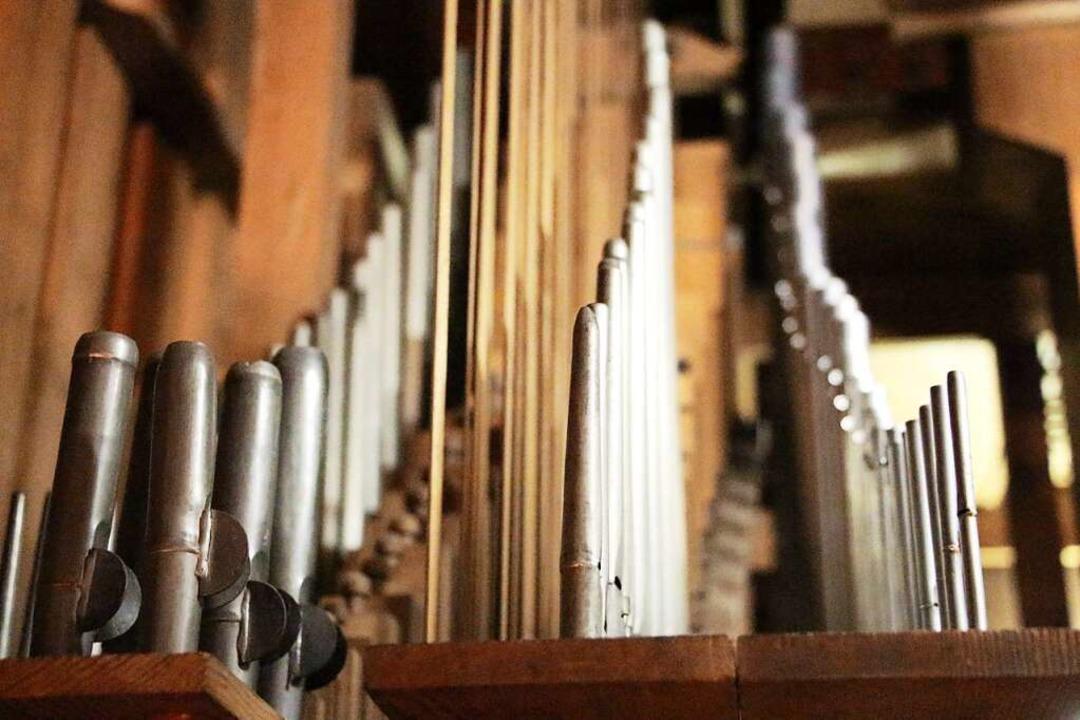 Impression der Walcker-Orgel aus dem J...9 in der St. Margarethen-Stiftskirche.  | Foto: Stadt Waldkirch
