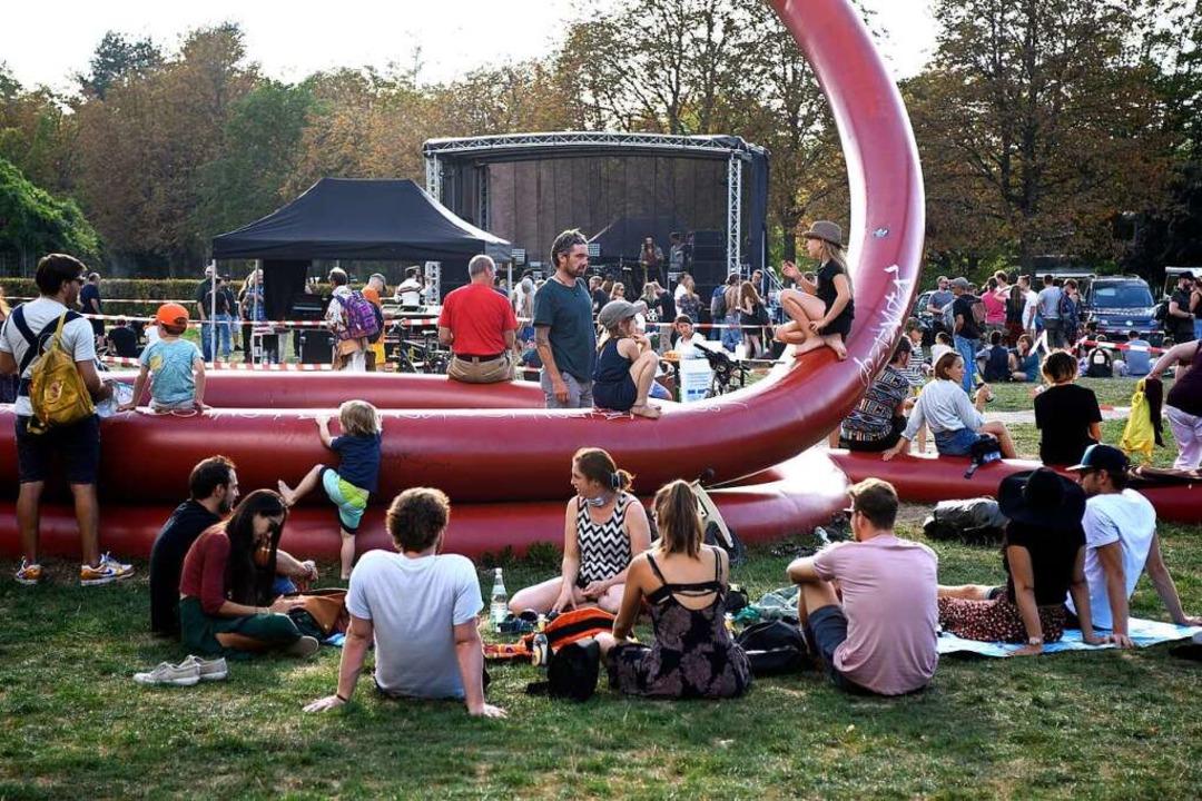 … oder im Eschholzpark, wo in diesem Jahr ein Rave stattfinden könnte.  | Foto: Thomas Kunz