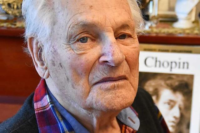 Der 100-Jährige Arkady Scheinker überlebte als einziges Familienmitglied den Holocaust