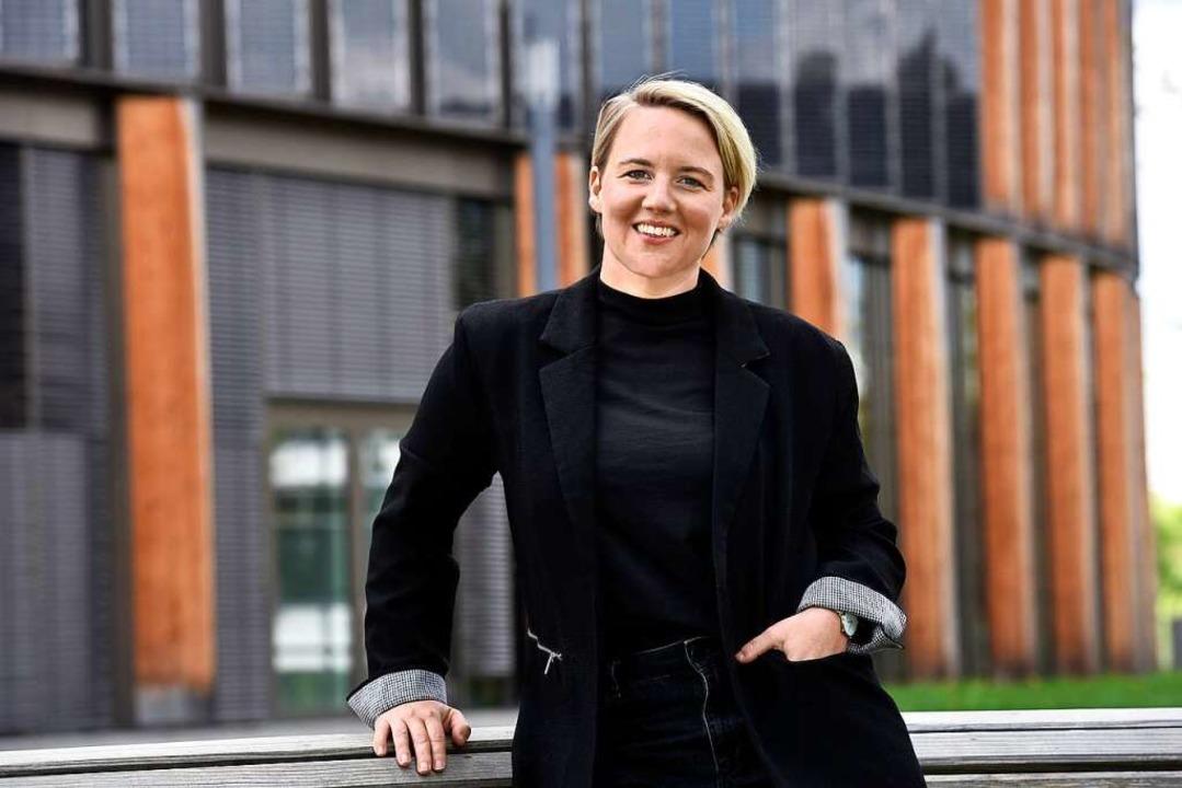 Solveig Schwarz, eine der Organisatorinnen des Freiburger Digitaltags  | Foto: Thomas Kunz