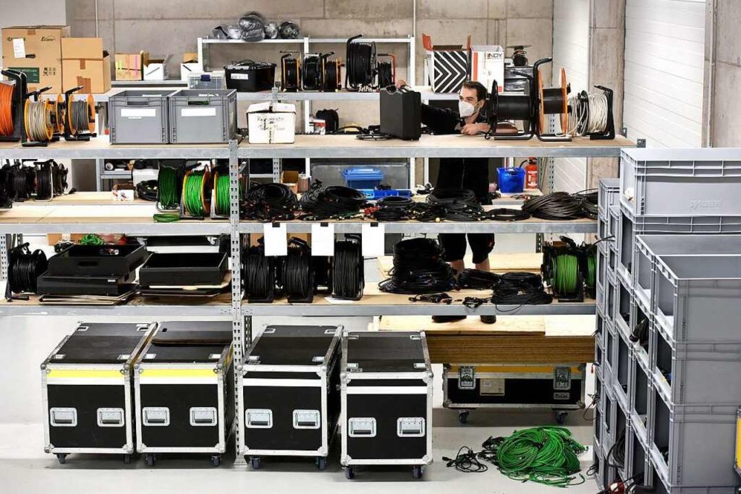 Im Technik-Lager  | Foto: Thomas Kunz