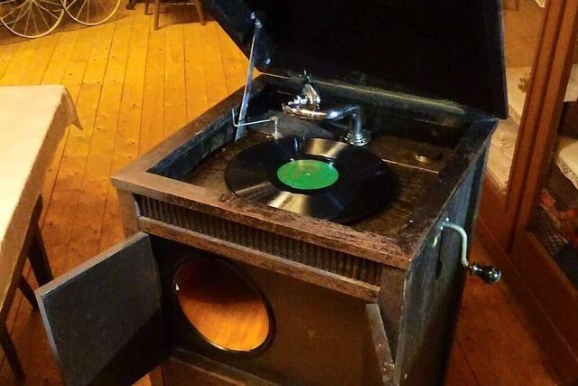Wenn das Grammophon im Heimatmuseum Reichenbach erklingt