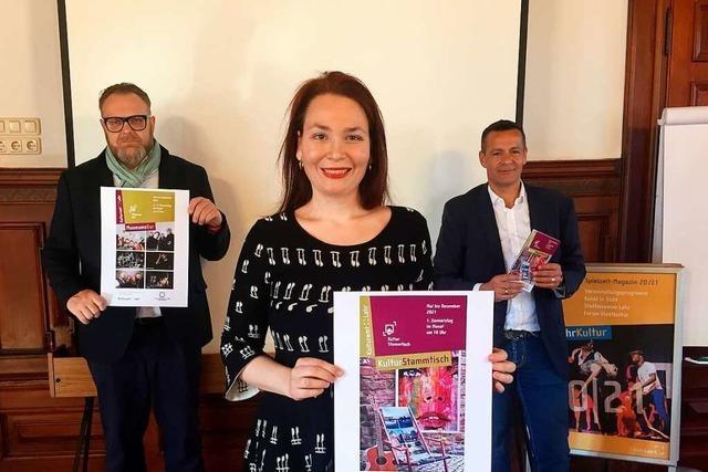Diskussion über Lahr als Kulturstadt mit Dirigent Michael Güttler