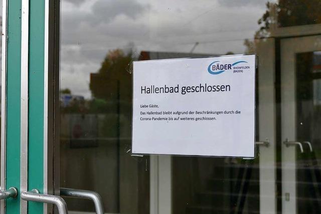 Mehr als 700 Unterschriften fürs Hallenbad Rheinfelden
