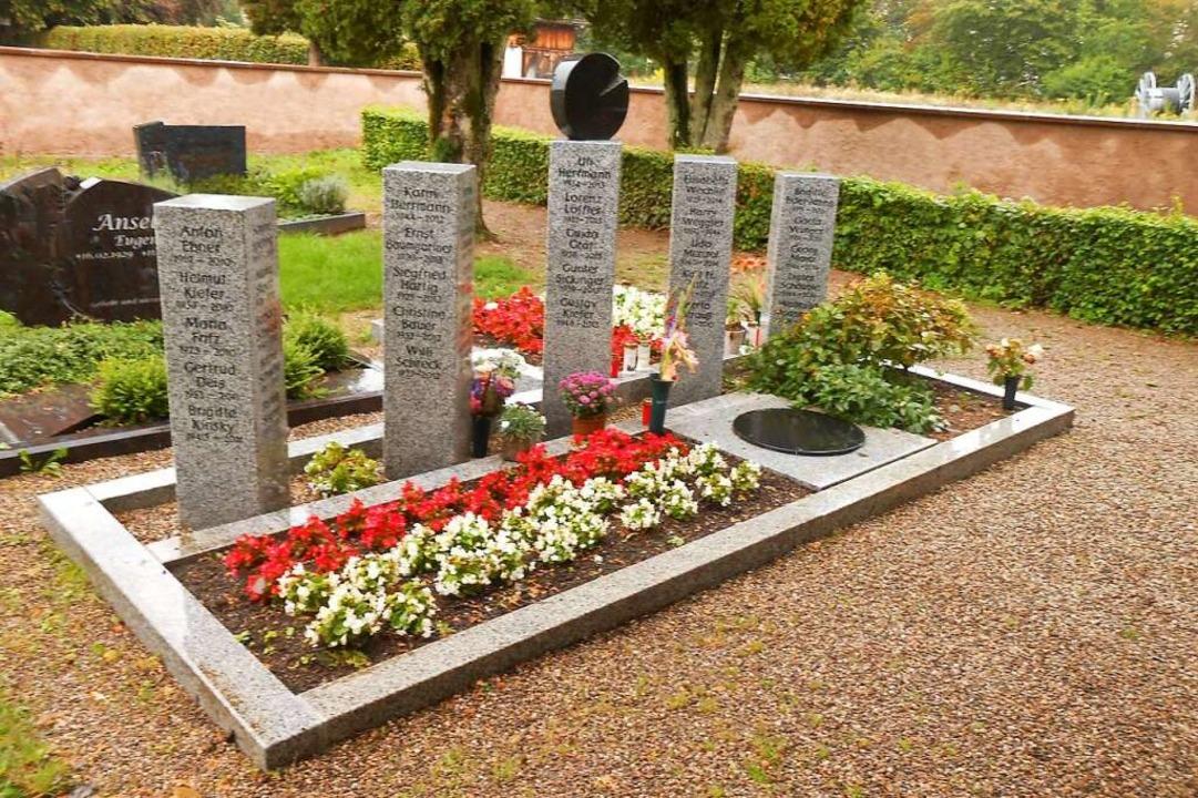 Ähnlich wie in Schopfheim soll das hal...chen Betonzisterne mit den Urnen hat.   | Foto: Marc Feldmann, Stadt Laufenburg