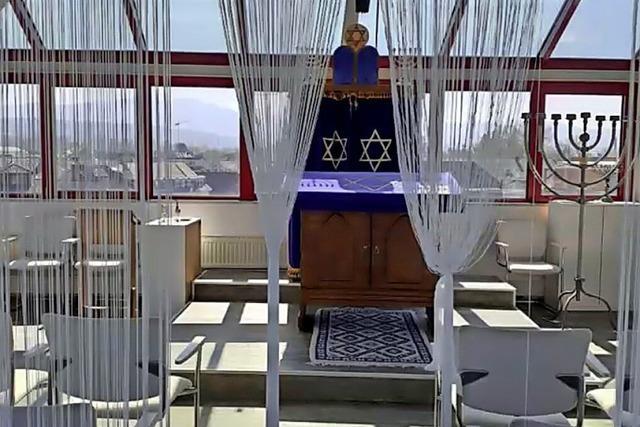 Ein Zelt des Friedens dient als ein Haus der Versammlung