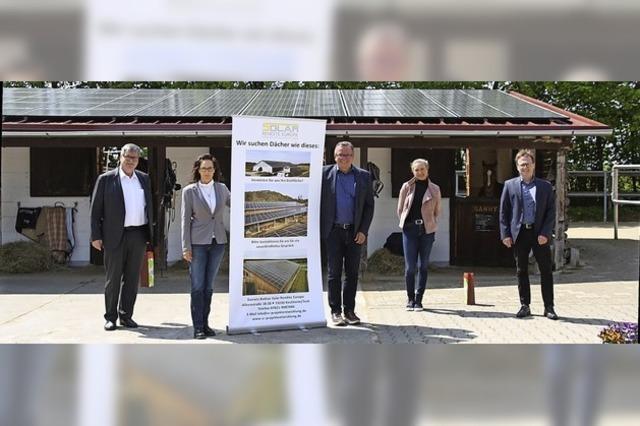 Neue Dächer durch Solarprojekt