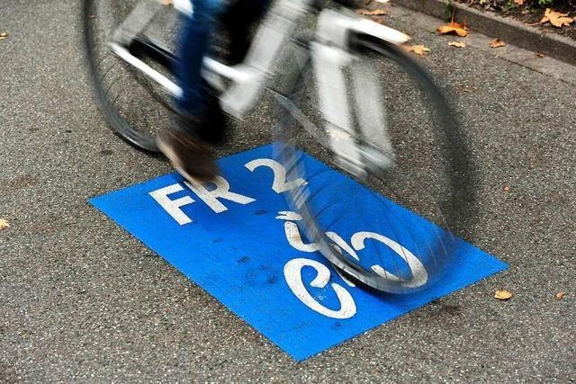 Radschnellweg FR 2 für 24 Stunden gesperrt
