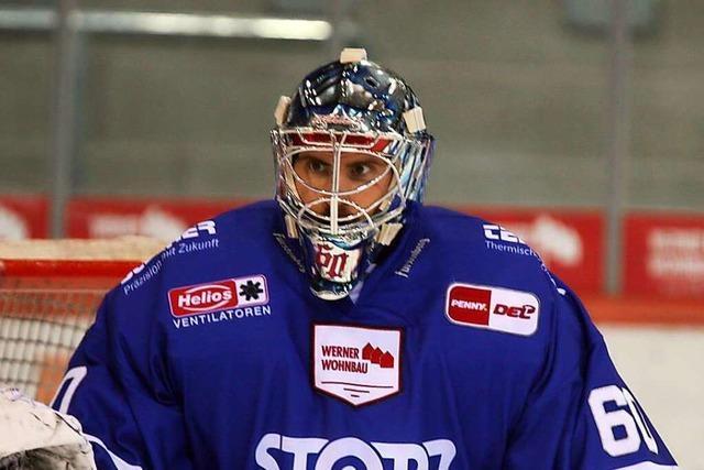 Joacim Eriksson von den Schwenninger Wild Wings wurde als bester Torwart der DEL-Saison ausgezeichnet