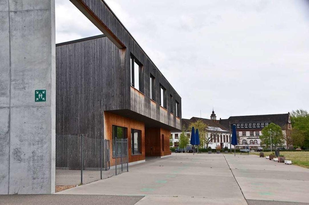 Beim Campusgebäude soll ein Gemeinscha... Gemeinschaftsschule errichtet werden.  | Foto: Horatio Gollin