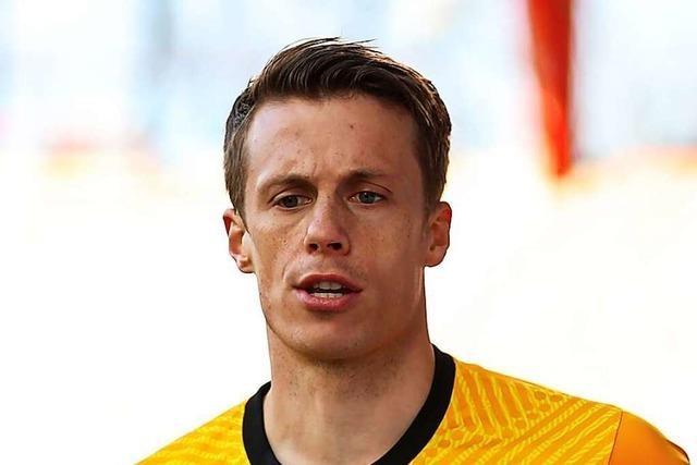 Alexander Schwolow freut sich auf das Spiel gegen den Sportclub