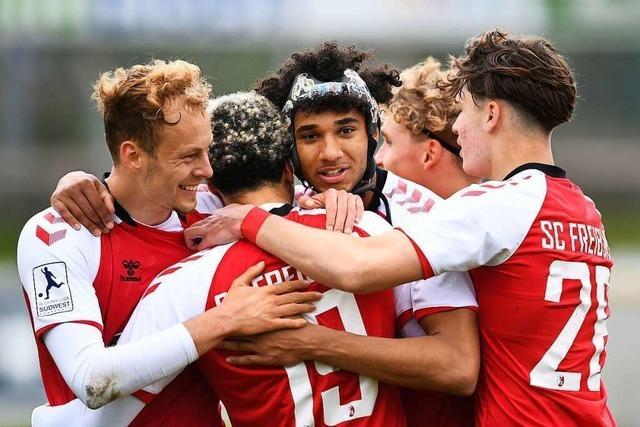 Siebter Sieg in Serie – SC Freiburg II bleibt auf Aufstiegskurs