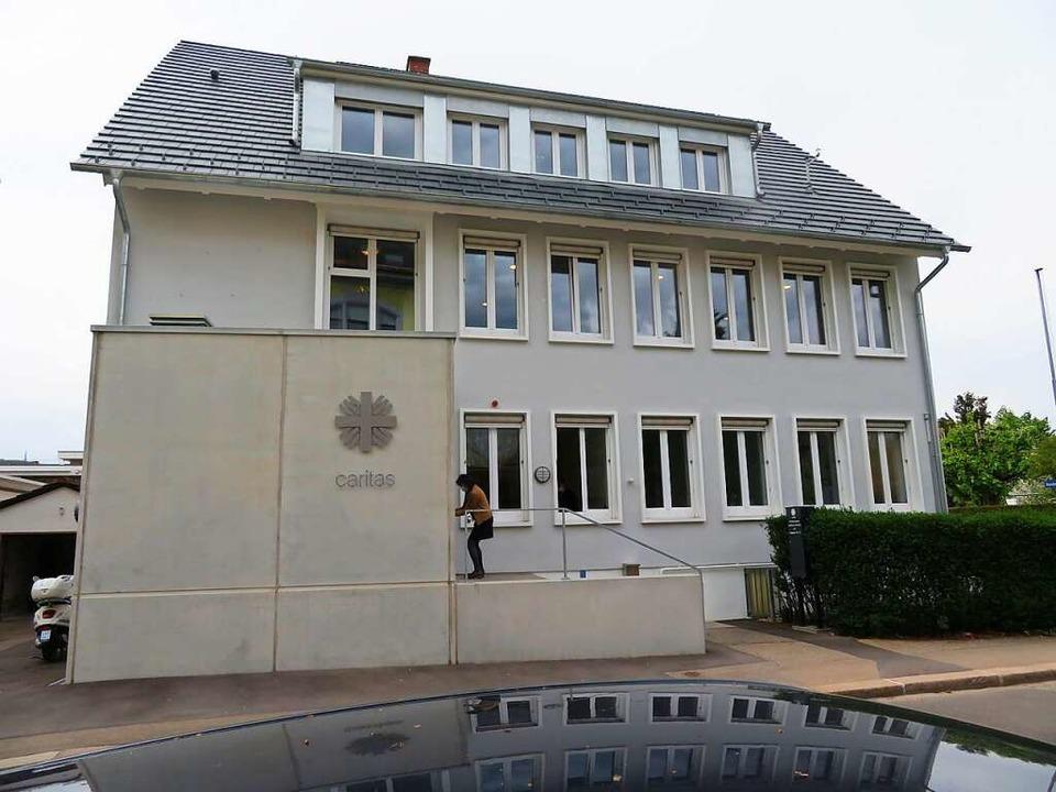 Das Gebäude des Caritasverbands an der Haagener Straße 17 in Lörrach    Foto: Peter Gerigk