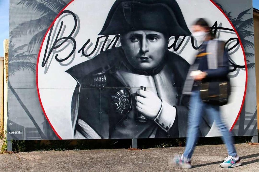 War einst General, revolutionärer Dikt...: Napoleon Bonaparte (1769–1821)  | Foto: PASCAL POCHARD-CASABIANCA (AFP)