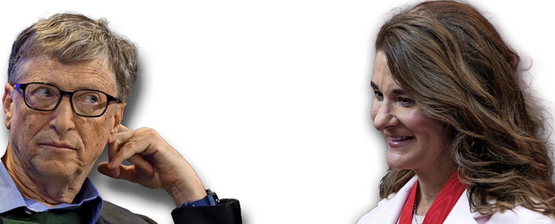 Gehen künftig getrennte Wege: Bill und Melinda Gates  | Foto: Kamil Zihnioglu/Gian Ehrenzeller (dpa)