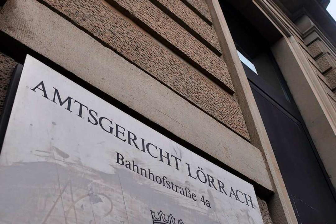 Zum Prozess am Amtsgericht Lörrach erschien der Angeklagte nicht.    Foto: Daniel Gramespacher