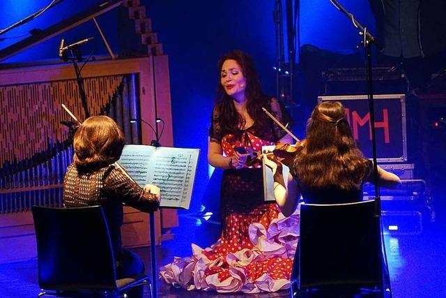 Die Lahrer Kulturamtsleiterin Cornelia Lanz tritt als Sängerin bei der