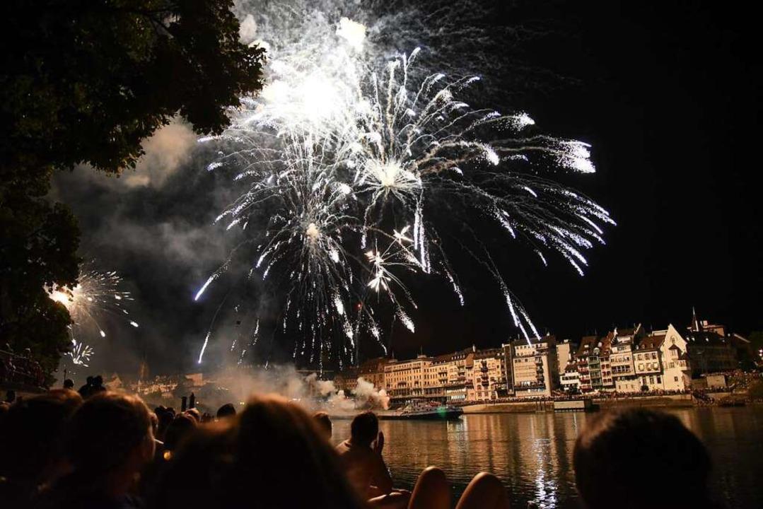 Das Feuerwerk vom Rhein aus wird nicht stattfinden.    Foto: Jonas Hirt