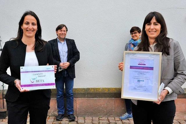 Gütesiegel für evangelische Kindergärten in Denzlingen