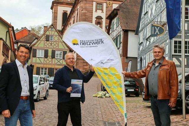 Die Stadt Ettenheim will den Bürgern Photovoltaik schmackhaft machen