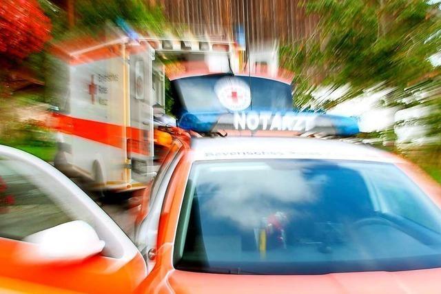 Jugendlicher wird nach Unfall in Murg mit Heli in die Klinik geflogen
