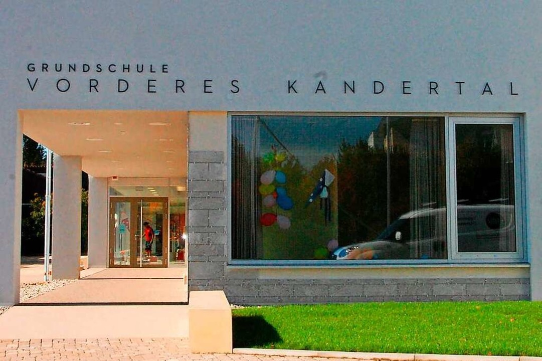An der Verbandsschule Vorderes Kandert...Infrastruktur wird derzeit geschaffen.  | Foto: Herbert Frey