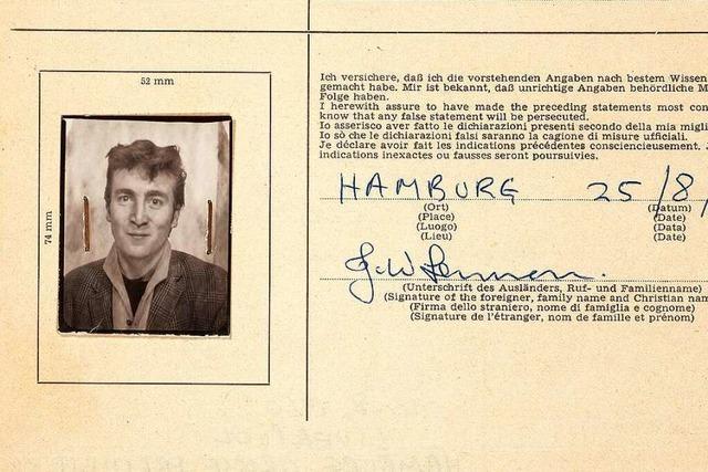 Auktion in London bietet Beatles-Erinnerungen aus Hamburger Zeit